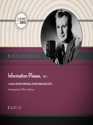cover image of Information Please, Volume 1