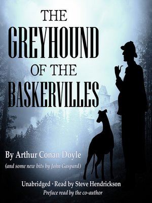 cover image of The Greyhound of the Baskervilles