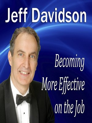 cover image of Becoming More Effective on the Job