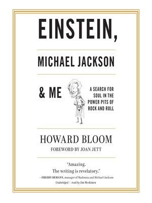 cover image of Einstein, Michael Jackson & Me