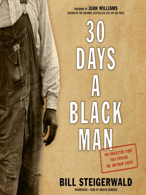 cover image of 30 Days a Black Man