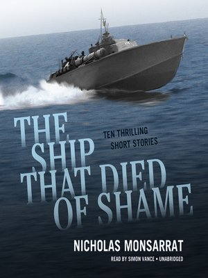 cover image of The Ship That Died of Shame