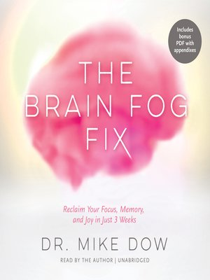 cover image of The Brain Fog Fix