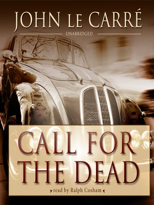 cover image of Call for the Dead