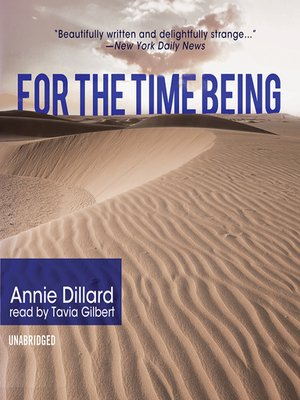 cover image of For the Time Being