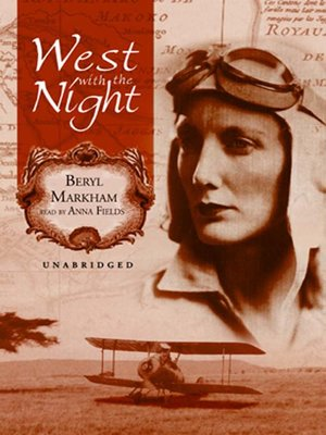 cover image of West with the Night