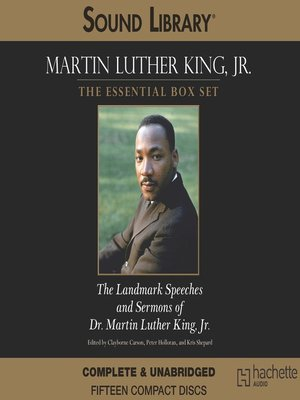 cover image of Martin Luther King, Jr.: The Essential Box Set