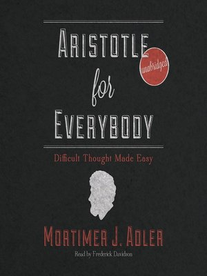 cover image of Aristotle for Everybody