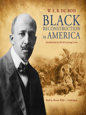 cover image of Black Reconstruction in America