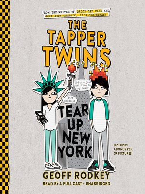 cover image of The Tapper Twins Tear Up New York
