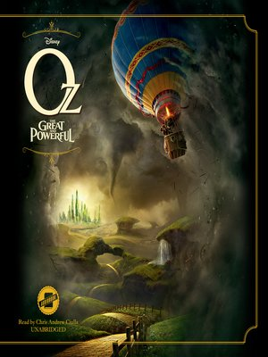 cover image of Oz the Great and Powerful