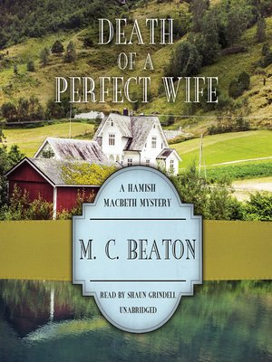 cover image of Death of a Perfect Wife