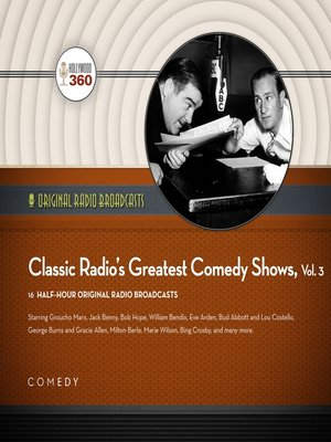 cover image of Classic Radio's Greatest Comedy Shows, Volume 3