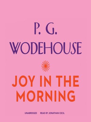 cover image of Joy in the Morning