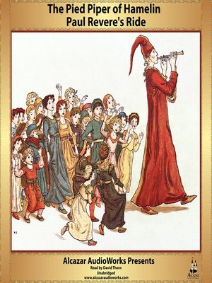 cover image of Paul Revere's Ride and the Pied Piper of Hamelin