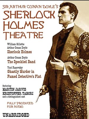 cover image of The Sherlock Holmes Theatre