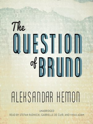 cover image of The Question of Bruno