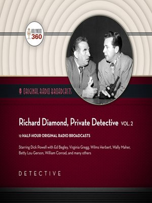 cover image of Richard Diamond, Private Detective, Volume 2