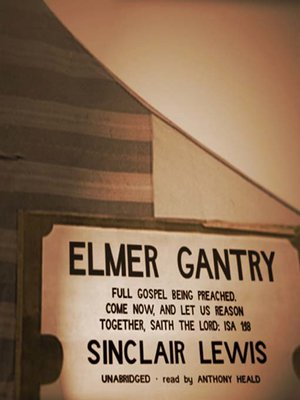 cover image of Elmer Gantry