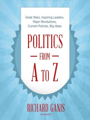 cover image of Politics from A to Z