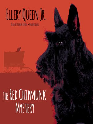 cover image of The Red Chipmunk Mystery