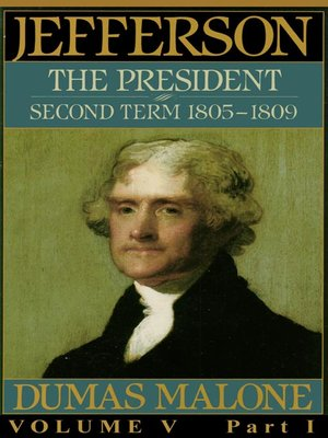cover image of Thomas Jefferson and His Time, Volume V