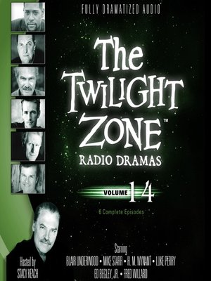 cover image of The Twilight Zone Radio Dramas, Volume 14