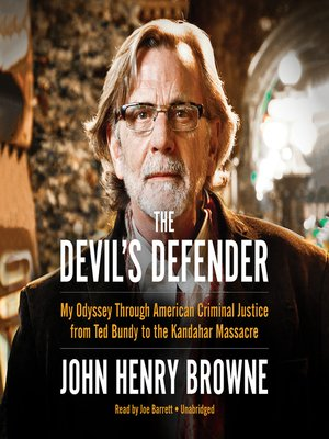 cover image of The Devil's Defender