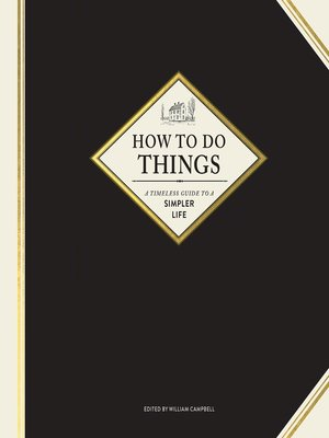 cover image of How to Do Things