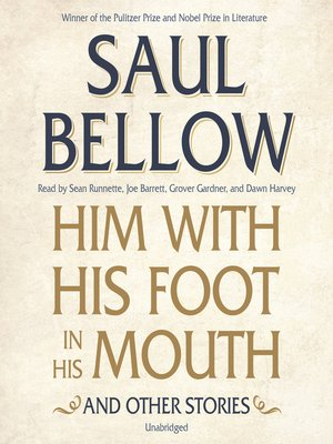 cover image of Him with His Foot in His Mouth, and Other Stories