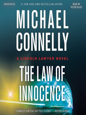 cover image of The Law of Innocence