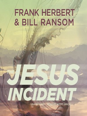 cover image of The Jesus Incident