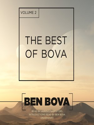 cover image of The Best of Bova, Volume 2