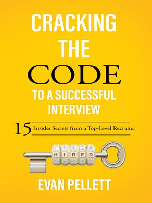 cover image of Cracking the Code to a Successful Interview