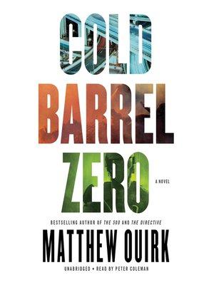cover image of Cold Barrel Zero
