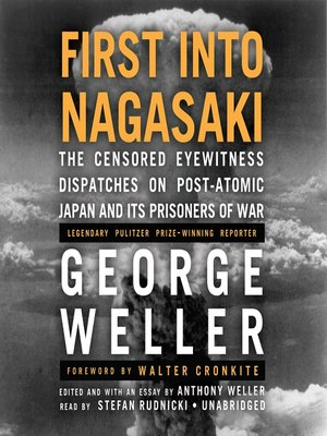 cover image of First into Nagasaki
