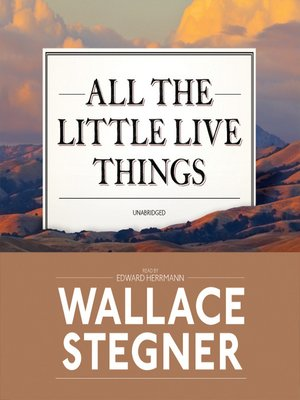 cover image of All the Little Live Things