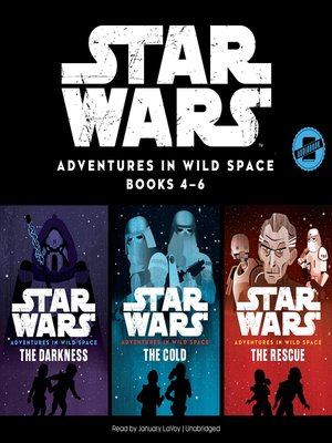 cover image of Star Wars Adventures in Wild Space, Books 4-6