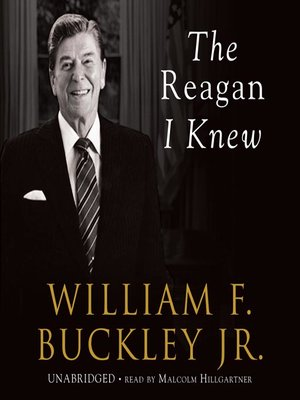 cover image of The Reagan I Knew
