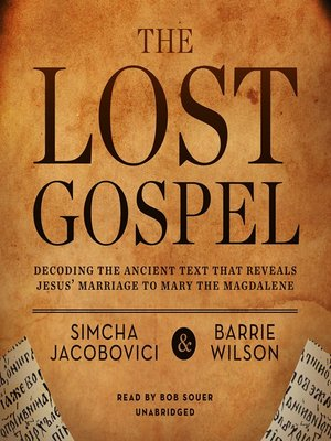 cover image of The Lost Gospel