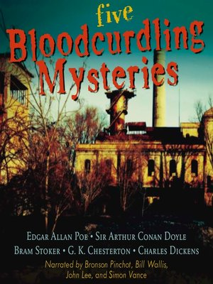 cover image of Five Bloodcurdling Mysteries