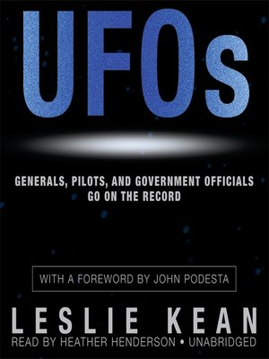 cover image of UFOs