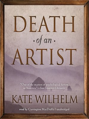 cover image of Death of an Artist