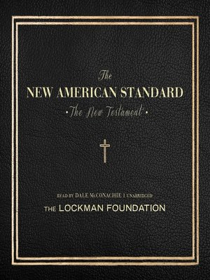 cover image of The New Testament of the New American Standard Audio Bible