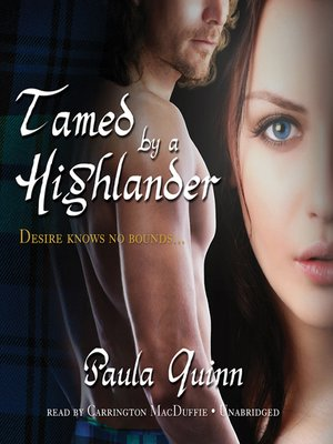 cover image of Tamed by a Highlander