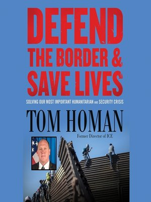 cover image of Defend the Border and Save Lives