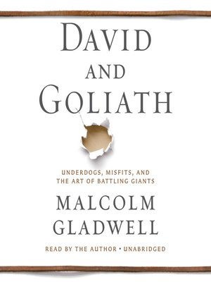 cover image of David and Goliath