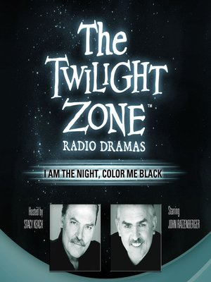 cover image of I Am the Night, Color Me Black