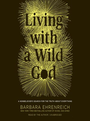 cover image of Living with a Wild God