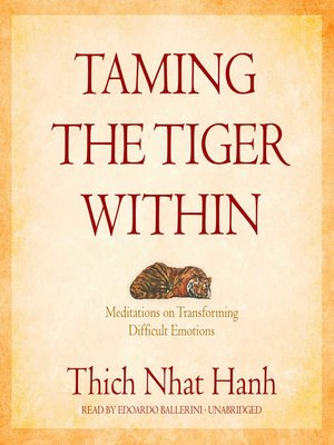 taming the tiger within epub